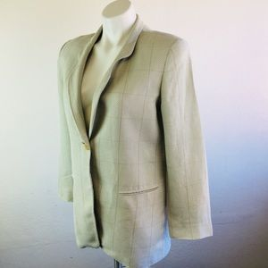 Giorgio Armani Jackets & Coats - Giorgio Armani Le Collezioni Jacket Size 6